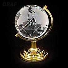 Круглая земля Глобус офис прозрачный милый Кристалл карта мира стойка для пресс-папье стол декор Ремесла Художественный стеклянный шар 6,5*4,5*4,5 см