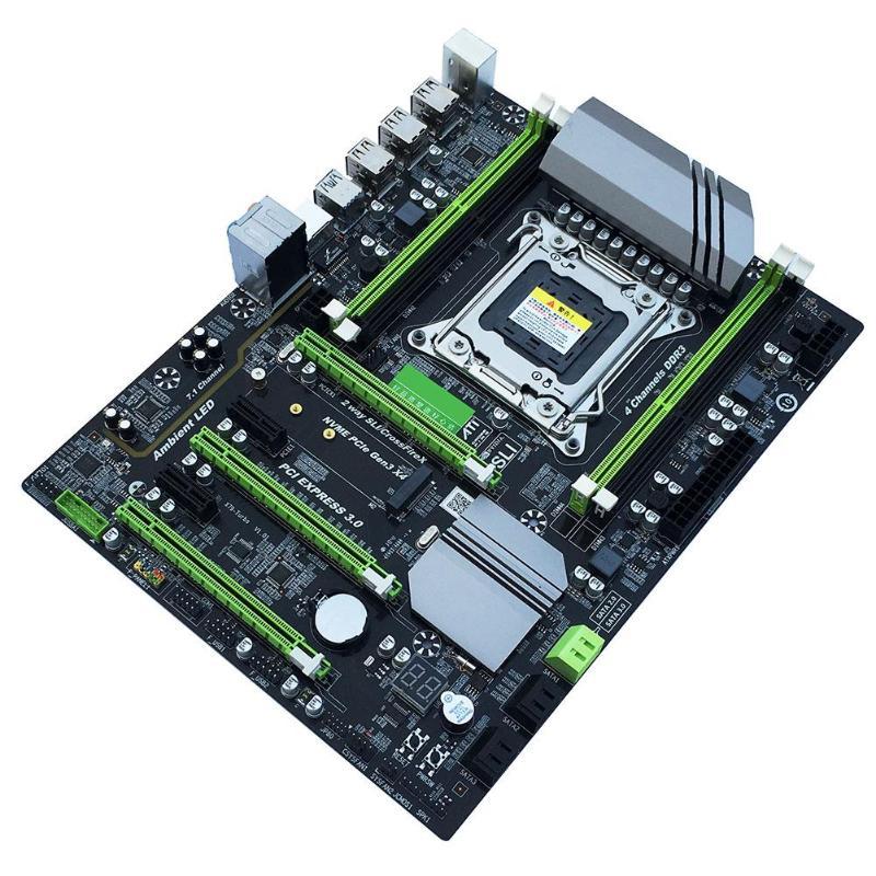 X79T DDR3 PC เดสก์ท็อปเมนบอร์ด LGA 2011 CPU คอมพิวเตอร์ 4 ช่อง Gaming สนับสนุน M.2 E5 2680V2 i7 SATA 3.0 USB 3.0 สำหรับ Intel B75-ใน แผงวงจรหลัก จาก คอมพิวเตอร์และออฟฟิศ บน AliExpress - 11.11_สิบเอ็ด สิบเอ็ดวันคนโสด 1