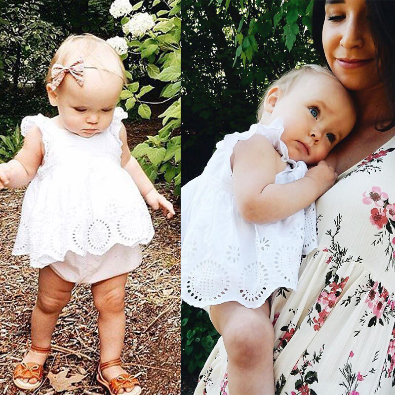 Pudcoco Clothes For Girl Newborn Baby Girls Kids Clothes Cotton Romper Jumpsuit Playsuit Outfits