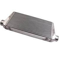 Brandnew frente montar alumínio intercooler 600x300x76mm barra & palte universal cooler