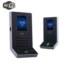 ZKTeco UF600 asistencia de reconocimiento de huellas dactilares con módulo Wi-Fi 1000 huella dactilar + 500 cara USB identificación rápida
