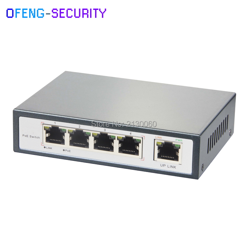 110W Power 5 Port Long Transmission PoE Switch 250 Meters 10/100M POE Ethernet Switch 802.3af/at