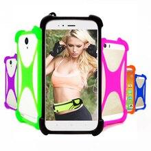 Caso universal para leagoo power 5/2 pro smartphone pára-choques capa de silicone macio para leagoo z9/s10 casos de borracha na mão