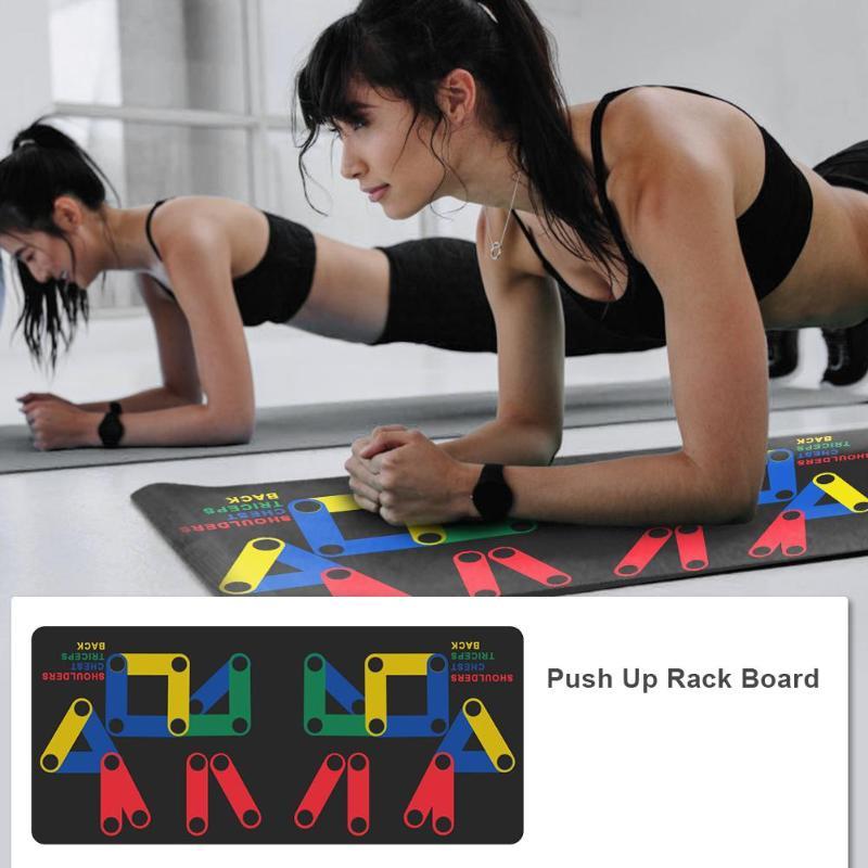 Push Up  Multifunction Rack Board Anti-slip 2