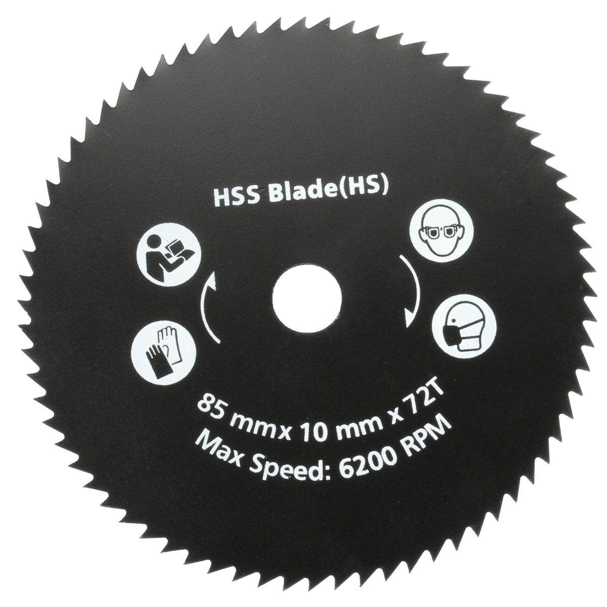 Newest 1PC 85mm 72T HSS Circular Saw Blade Cutting Disc Wheel For Worx WorxSaw Wood Metal Working Tools Hot Sale