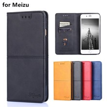 for Meizu M2 M3s M3 Mini M5 M6 M6S M8 Lite Note 9 case Luxury Leather