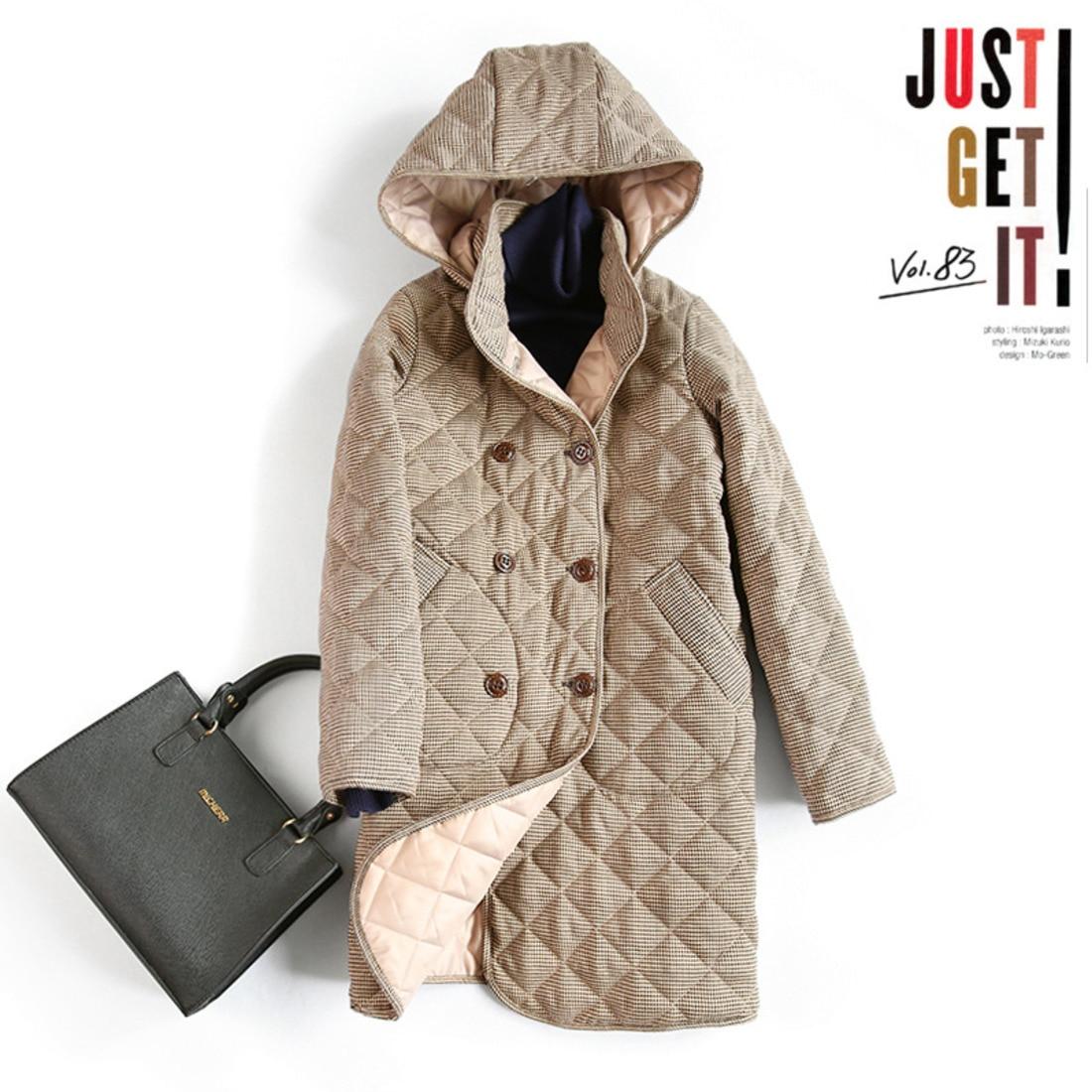 Японский восстановление древних способов Plover полосатый хлопковый костюм для девочек длинный Фонд осень и Свободное пальто ответственност...