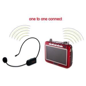 Image 5 - Casque de Microphone sans fil FM pour haut parleur/enseignement/promotion des ventes/réunions/guide touristique L3EF micro Radio Portable mégaphone