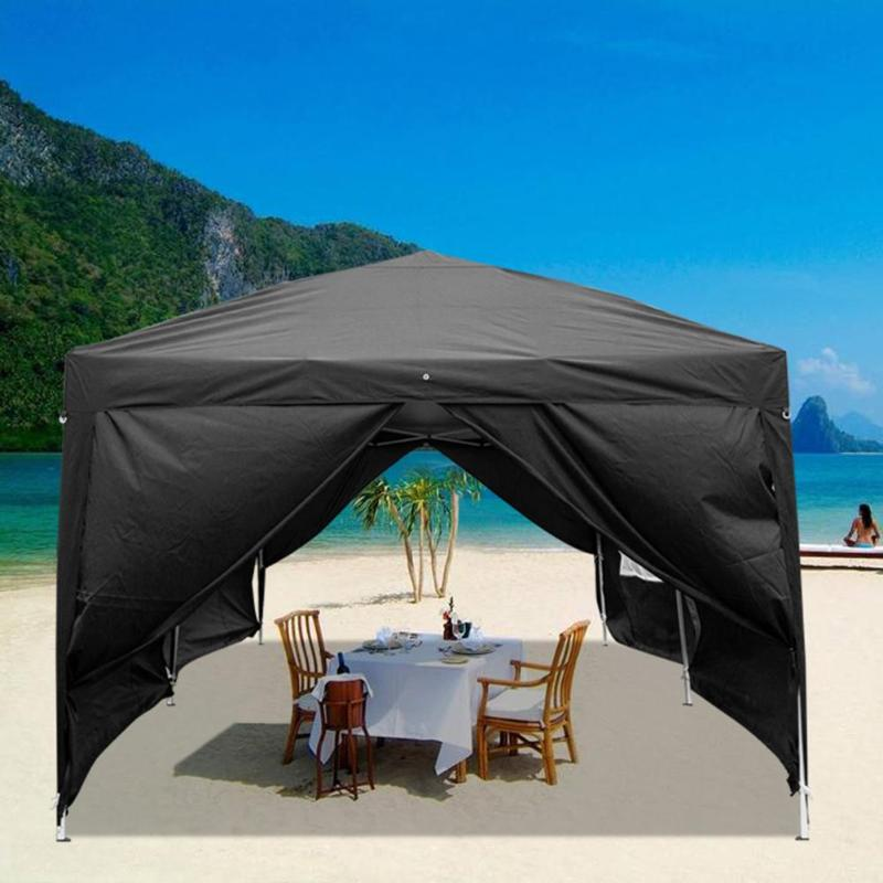 3x6m Oxford Fabric Foldable Tent Waterproof Outdoor Camping Six Sides Pavilion Canopy Festival Party Supplies