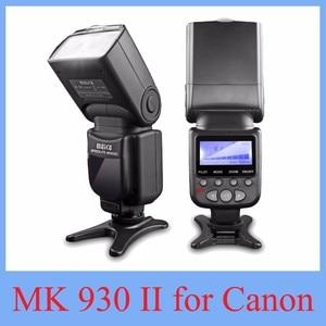 Image 1 - 2017 new meike MK 930 ii 플래시 스피드 라이트/스피드 라이트 캐논 6d eos 5d 5d2 5d mark iii ii 용인 YN 560 yn560 ii yn560ii