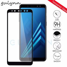 9H Tempered Glass For Samsung Galaxy A3 A5 A7 2017 Full cover Screen Protector For Samsung Galaxy J3 J4 J5 J6 J7 A6 A8 2018 Plus цена