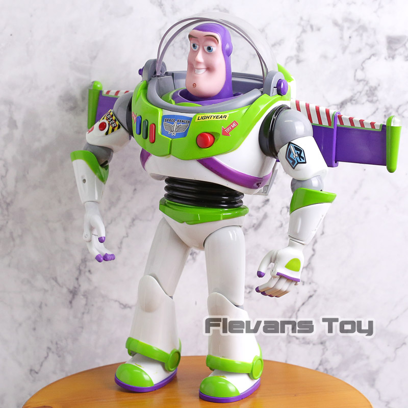 Toy Story 3 Talking Buzz Lightyear Toys Lights Voices Speak English Joint Movable Action Figures Children Gift-in Action & Toy Figures from Toys & Hobbies    3