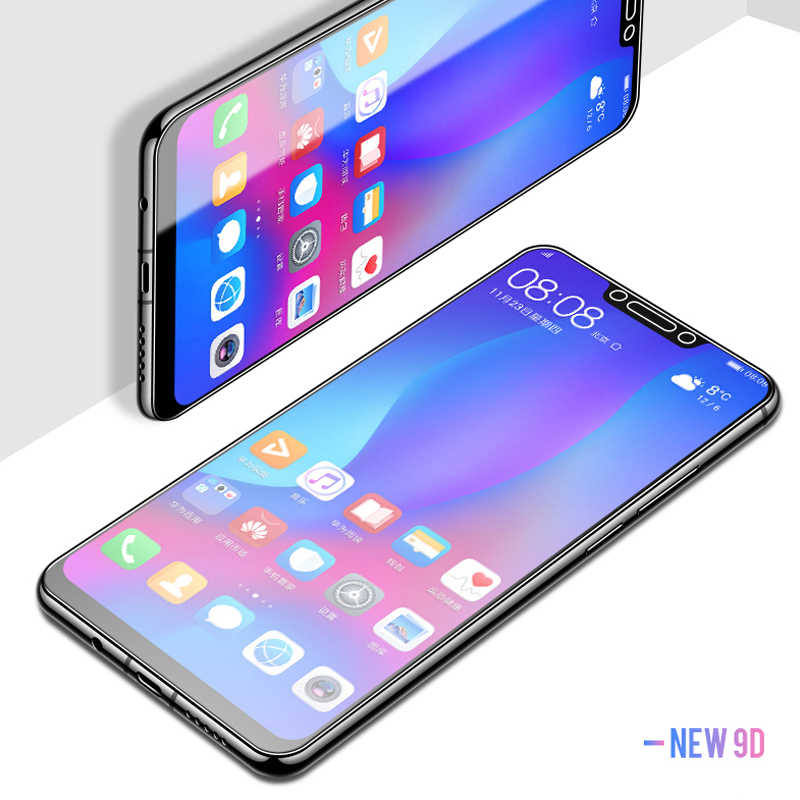 9D עבור Huawei honor 20 פרו מזג זכוכית מסך על עבור Huawei honor 10 9 lite מט mate 10 פרו אור p10 כיסוי מגן סרט