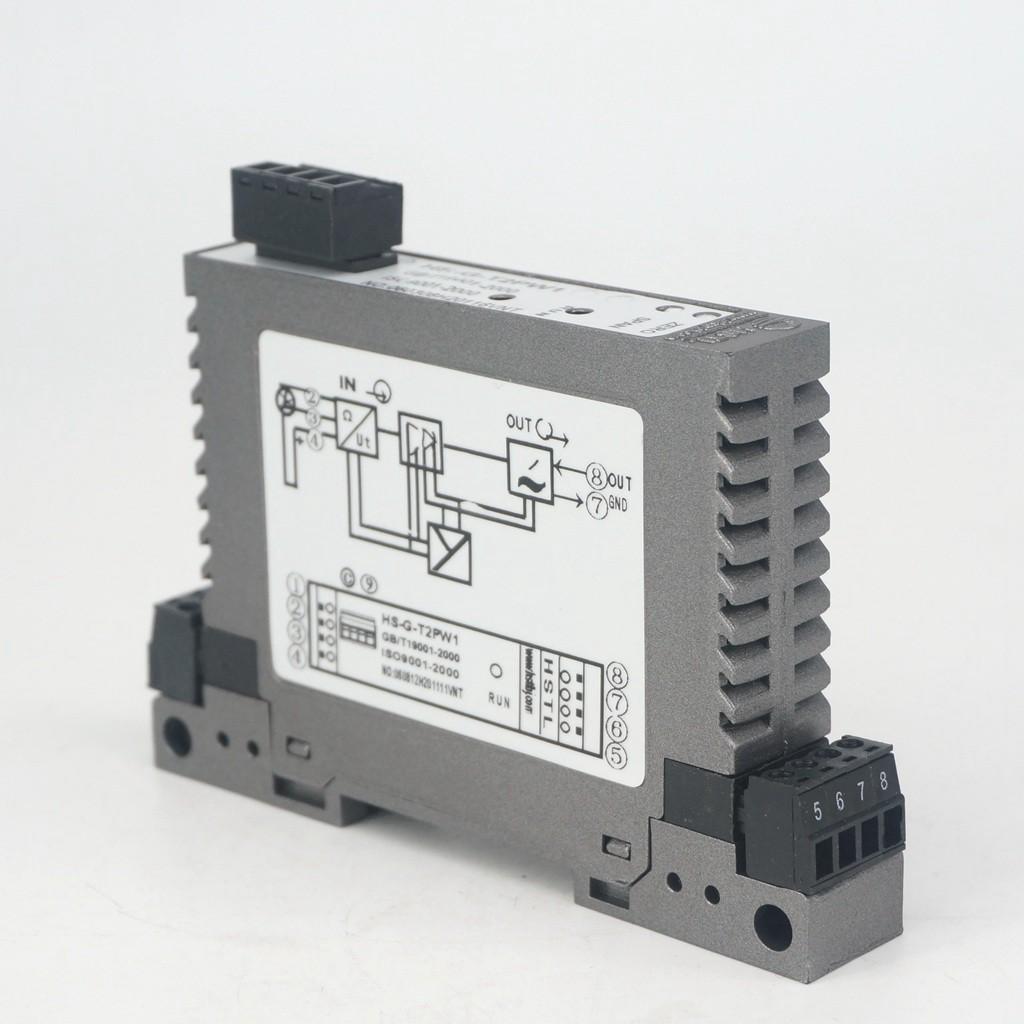 24VDC PT1000 Output 4-20mA/0-5V/0-10V Isolation Module Transmitter Temperature Control Thermistor