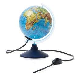 Глобус Земли Globen, физико-политический, с подсветкой, 150мм.