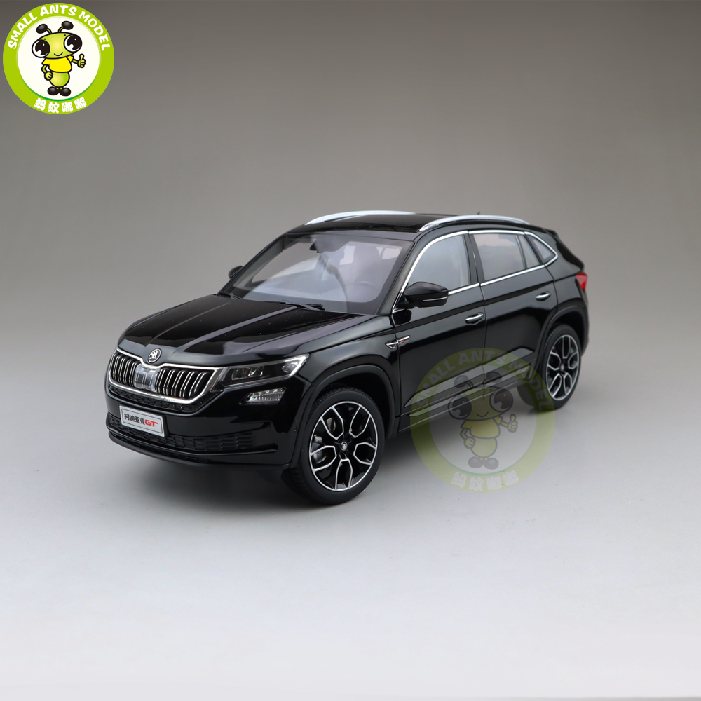 1 18 VW Skoda KODIAQ GT SUV Diecast Metal SUV CAR MODEL gift hobby collection Black