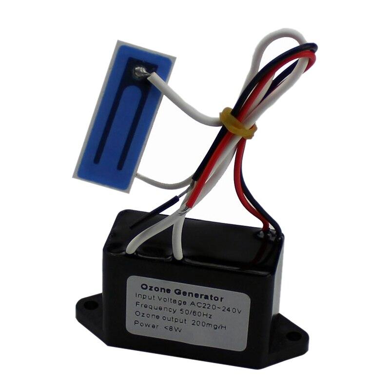 12V Luft Reiniger Für Home Ozon Ausgang Dichte 200 mgr/std Ozon Generator