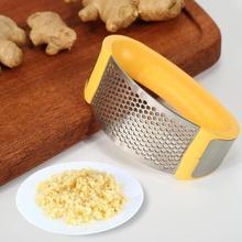 Многофункциональный пресс для чеснока из нержавеющей стали, терка для измельчения, инструмент для измельчения, измельчитель, инструмент для измельчения чеснока, кухонные инструменты для овощей