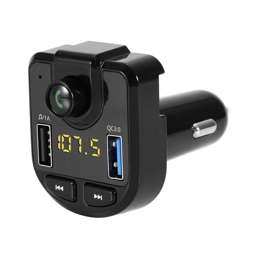 3.1a Dual Usb Auto Ladegerät Bt Hände-freies Fm Sender Mp3 Player Zigarette Leichter Auto Kit Auto Zubehör