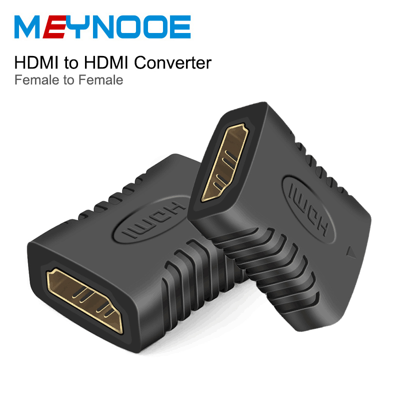 HDMI Female to HDMI Female Extension Adapeter HDMI Switch Splitter 3D 4K HDMI Extender Coupler Connector Digital Audio Converter