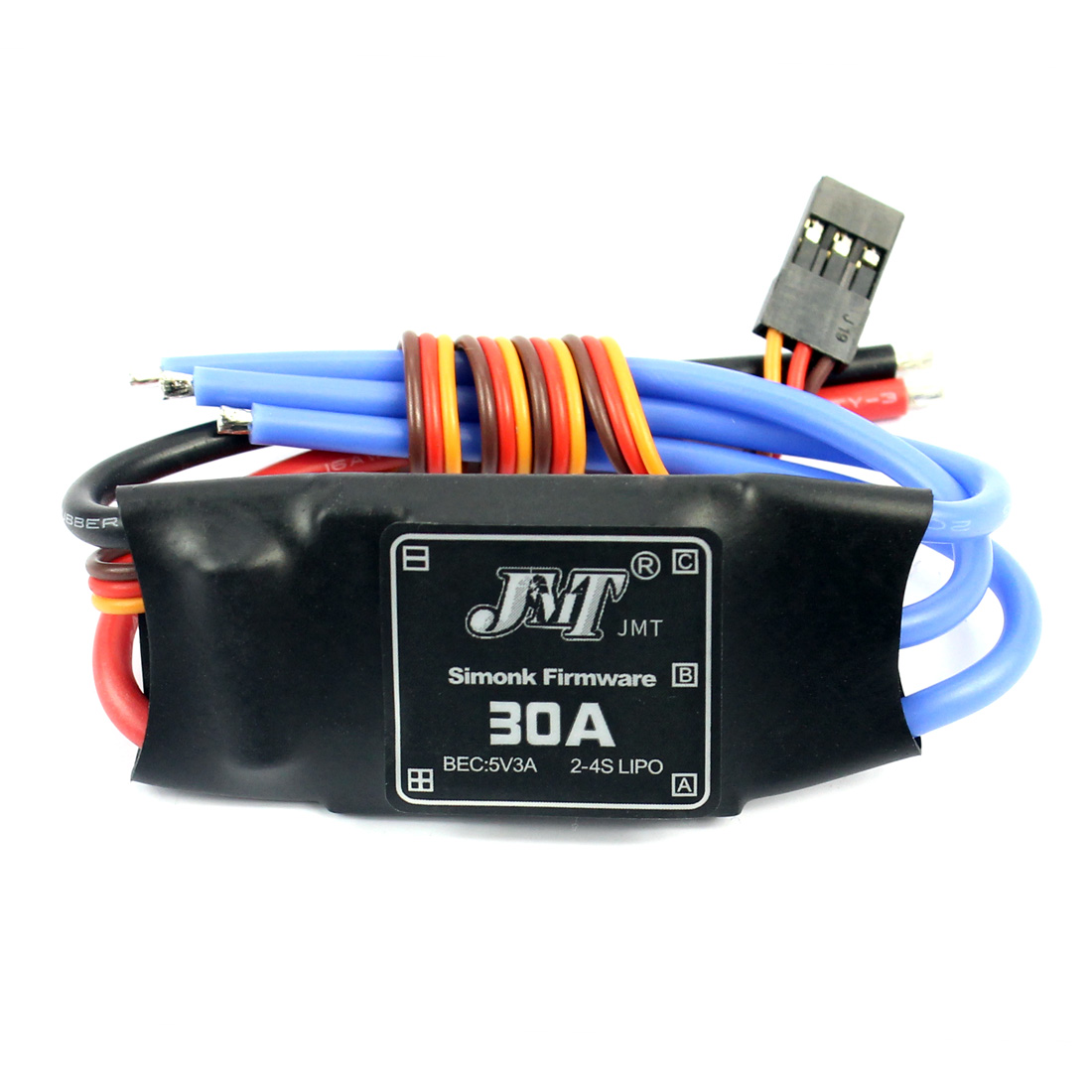 <font><b>JMT</b></font> <font><b>30A</b></font> Brushless <font><b>ESC</b></font> Speed Controller For RC RC Quadcopter Hexacopter Multi-Rotor Aircraft image