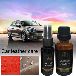 Image 2 - Agente de revestimiento Nano de cuero para Interior de coche, resistente a arañazos, súper impermeable, renovación, cuidado de cuero