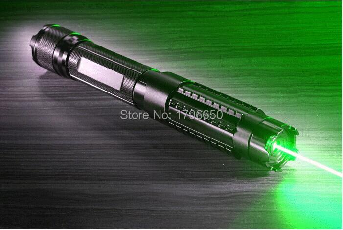 Haute Puissance militaire 10 w 100000 m 532nm Laser vert Pointeur lampe de Poche allumette bougie cigarette allumée méchants LAZER Chasse