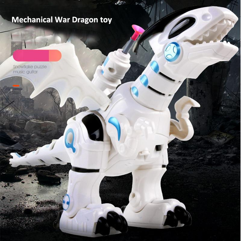 Have An Inquiring Mind Dinosaur Toys With Walking Roaring Spraying Shaking Head Flapping Wings Electric Dinosaur With Luxury Box For Dropshiping Warm And Windproof Toys & Hobbies