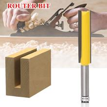 8 Shank Lengthened Straight Router Bit Lengthened Straight Knife Flush Trim Pattern Router Bit Knife For Wood