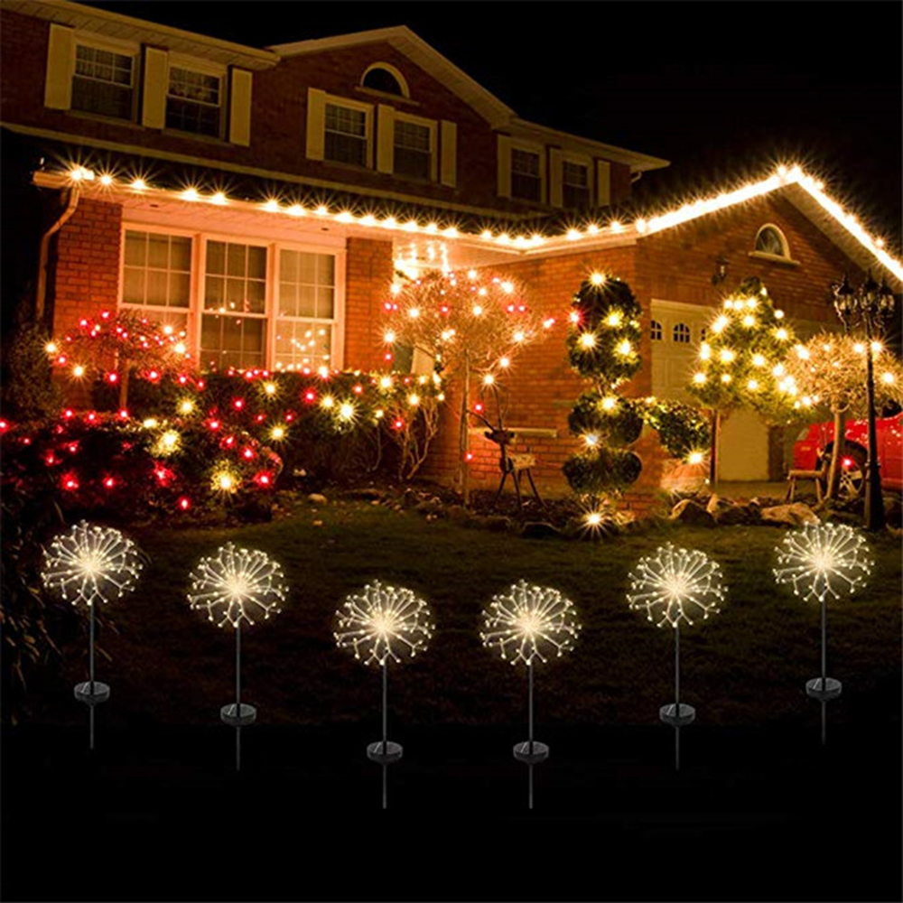 Xmas Lights And Erina Party Shop: Fairy Lights Outdoor Decoration 3 Colors Dazzle Glow Party