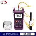 Medidor durómetro de dureza Leeb de rebote portátil Nicety HT-1800 para acero metálico