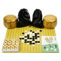 361pcs/set Go Game Weiqi Waterproof Bamboo Ware Sheet Board Bamboo ware board with clear lines and smooth surface