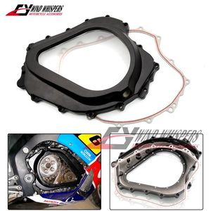 Motorcycle Modified Transparent Right crankcase cover Clutch Cover / Gasket For Honda CBR1000 CBR1000RR CBR 1000 RR 2004-2007(China)