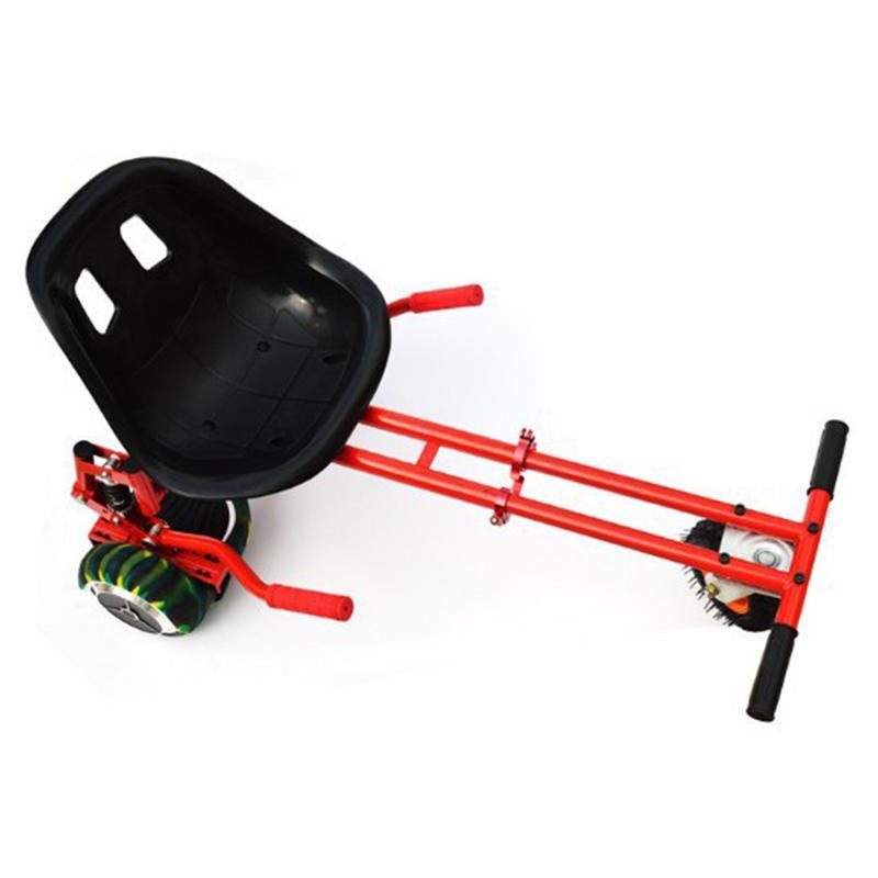 2 scooter à roues eléctriques Auto Équilibre Planche À Roulettes Hover Siège Amortisseur Aller Kart Hover Kart Promenade De Sécurité Voiture Hover Bord