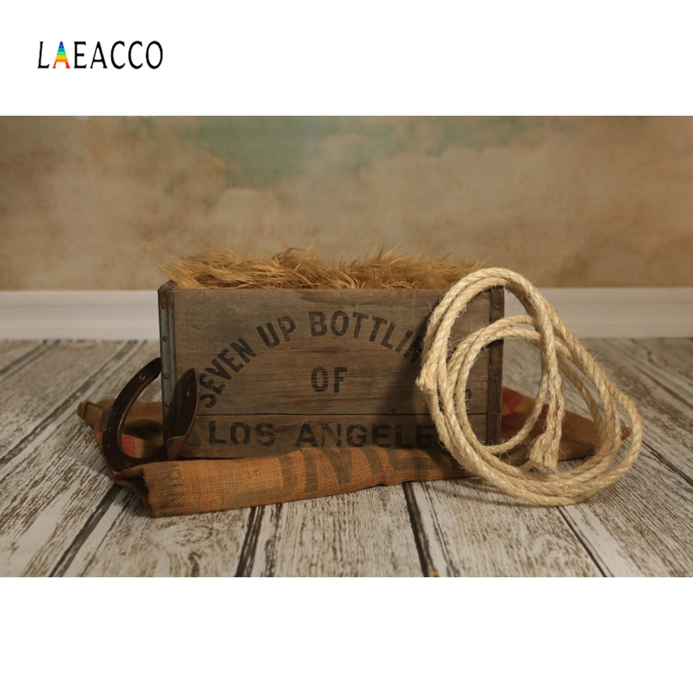 Laeacco Suitcase Anchor Swimming Ring Wooden Backdrop Photography Backgrounds Customized Photographic Backdrops For Photo Studio