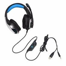 2018 V4 Hunterspider Isolamento de Ruído Fone de Ouvido Fone de Ouvido Confortável Over-Ear Stereo Music Phones PC Jogos de Computador Fone De Ouvido