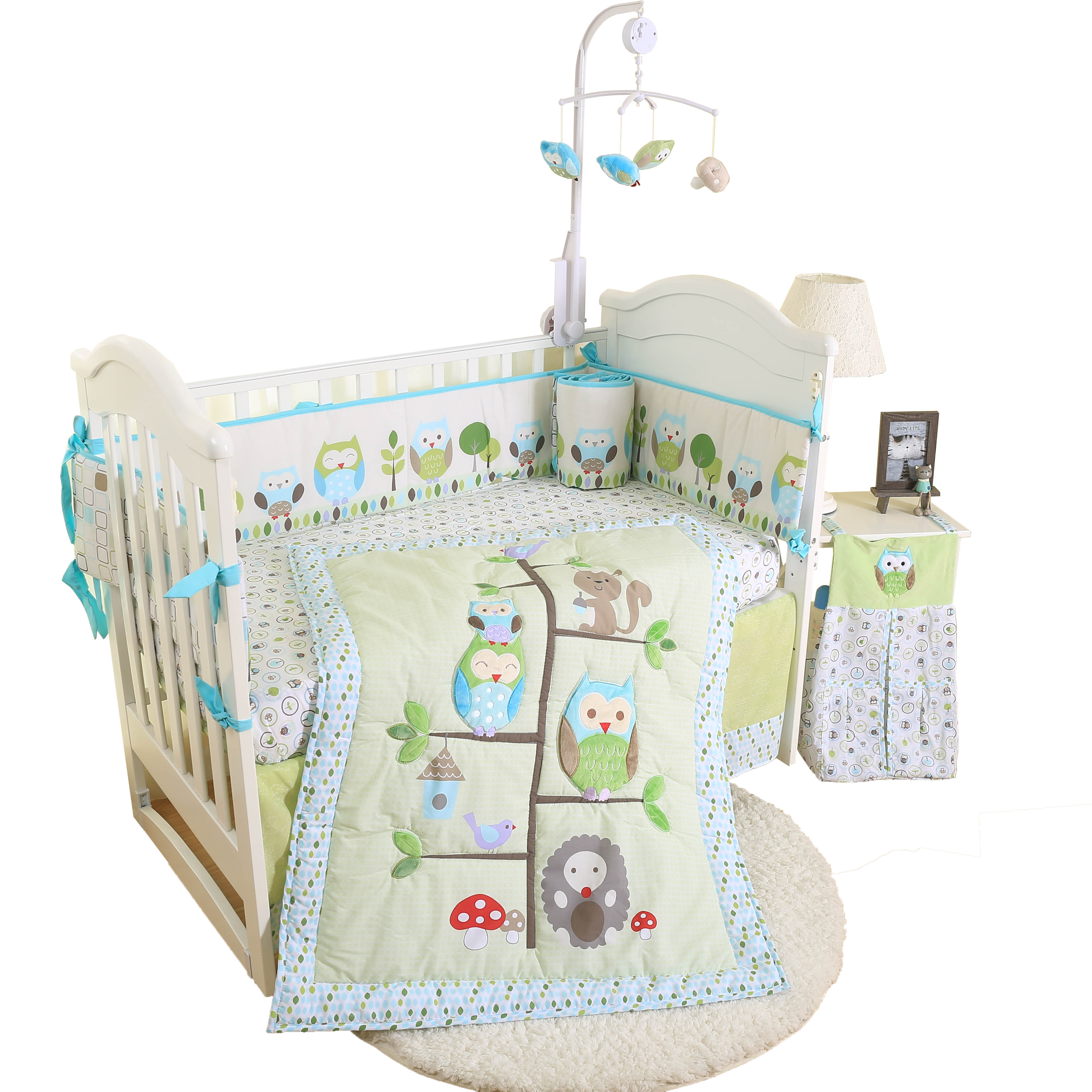 Eco-friendly easy cleaning cute new manufactured competitive price 4 piece baby bedding setEco-friendly easy cleaning cute new manufactured competitive price 4 piece baby bedding set