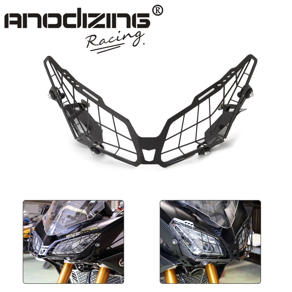 For YAMAHA MT09 Tracer 900 FZ09 Grille Headlight Protector Guard Lense Cover