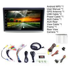 DC12V Ultra-light 1080P 7-inch 2DIN Android 8.1 Car Multimedia Player GPS Navigator FM/AM Radio WIFI Bluetooth Hands-free Calls