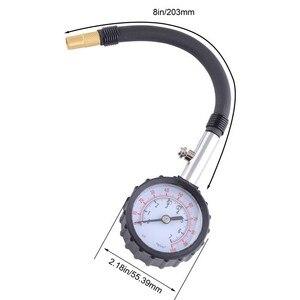 Image 3 - SPEEDWOW 긴 튜브 자동차 타이어 타이어 공기 압력 게이지 미터 자동차 테스터 모니터링 시스템 자동차 자전거 모터