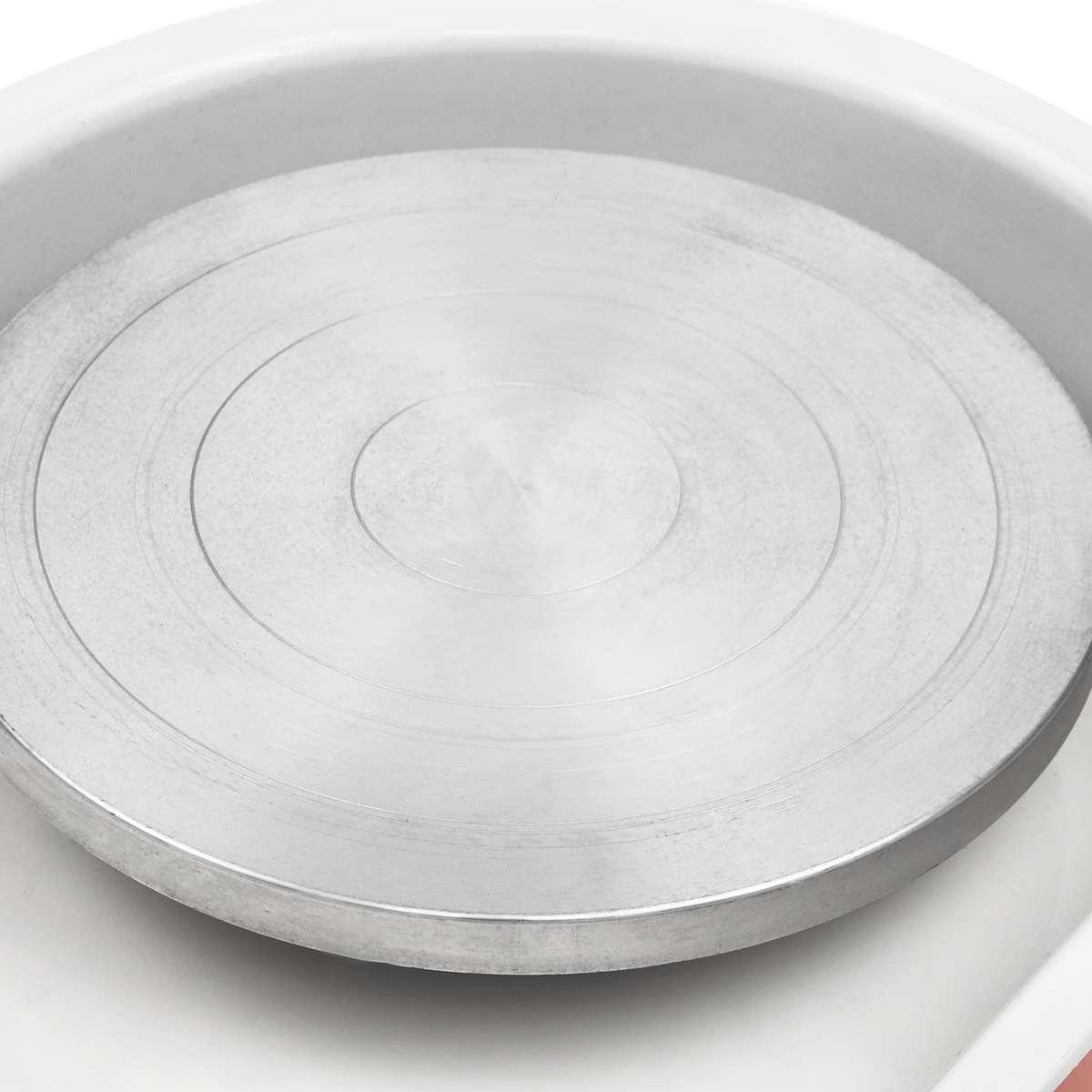 220 V 250 W poterie électrique roue 25 cm poterie formant la Machine argile pour travaux pratiques sculpture céramique Machine Variable vitesse réversible - 3