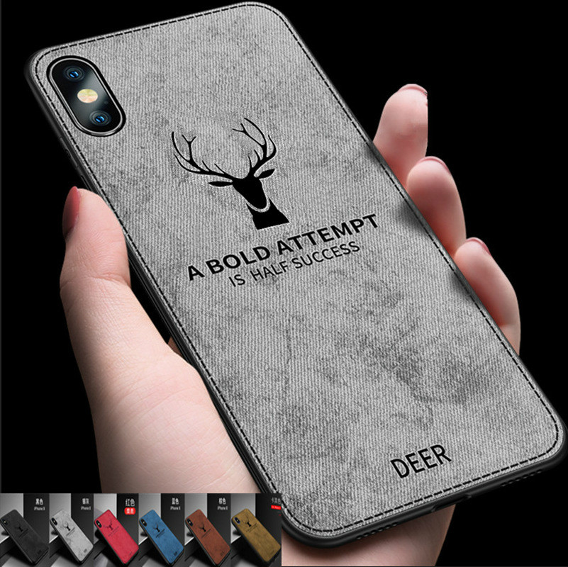 Phone Bags & Cases Dreamysow Fabric Cloth Deer Batman Phone Cover For Iphone 6 6s7 8 Plus X Xs Max Xr Case Patterned Fashion Cute Back Cases