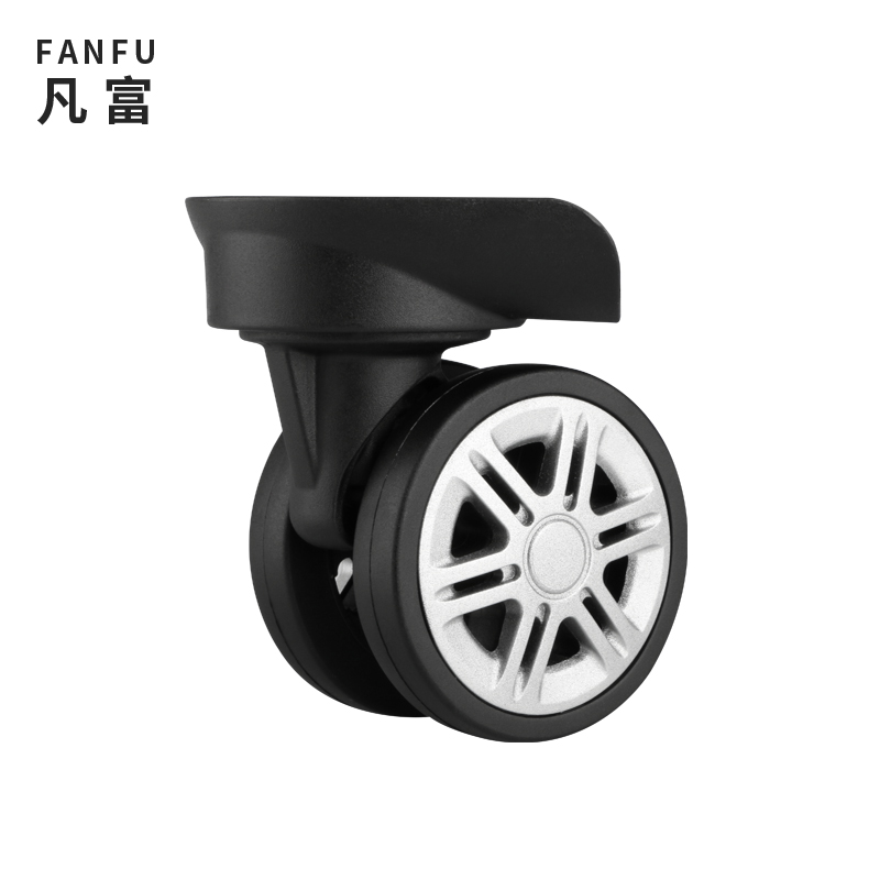 W060 Suitcase Wheels Accessories Universal Wheel Password Wheeled Luggage Casters Roller Equipment Accessories Suitcase Wheels