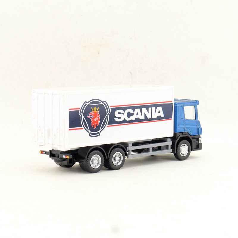 Gratis Pengiriman/RMZ Kota/1: 64 Scale/Diecast Model Mainan/Scania Truk Kontainer/Pendidikan Teknik Mobil/Koleksi/Hadiah untuk Anak