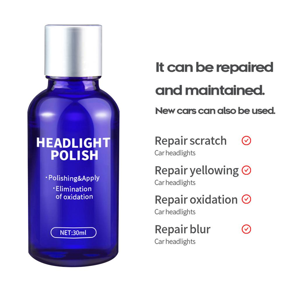 Image 3 - Car Headlights Oxidation Liquid Repair Agent Ceramic Coat Super Hydrophobic Glass Coating Polishing Coating Liquid Repair Tool-in Paint Protective Foil from Automobiles & Motorcycles