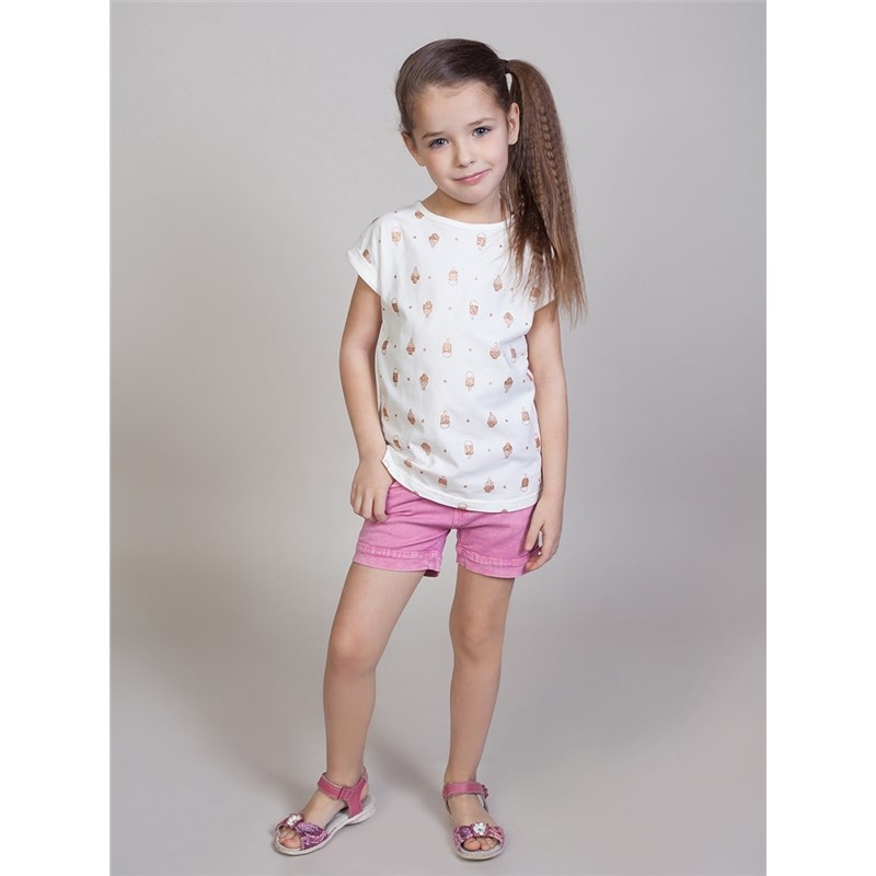 Shorts Sweet Berry Textile shorts for girls children clothing girls frill trim top with shorts