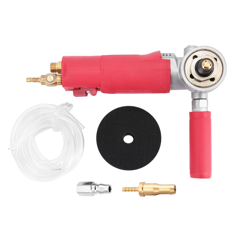 3 Pneumatic Water Polisher High Speed Wet Air Sander Air Grinder 4300rpm for Marble Stone Tool