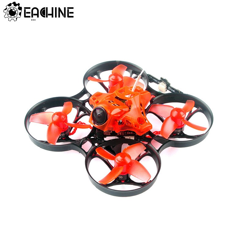Original Eachine TRASHCAN 75mm Crazybee F4 PRO OSD 2S Whoop FPV Racing Drone Caddx Eos2 Adjustable Camera 25/200mW VTX