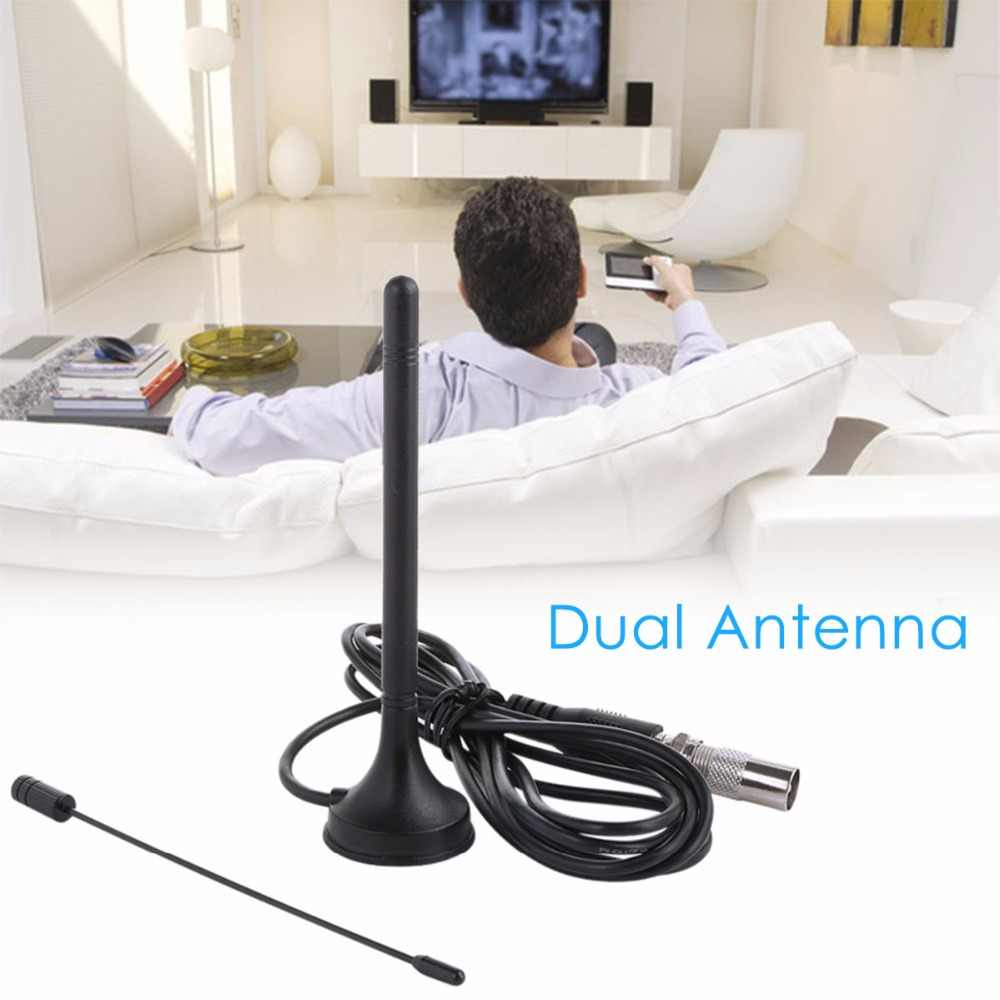 SOONHUA DTA-180 DVB-T TV Dual Antenne HDTV 30DB Indoor Digitale Antenne TA-180 30dBi Indoor Gain Digitale DVB-T Voor TV HDTV Kabel