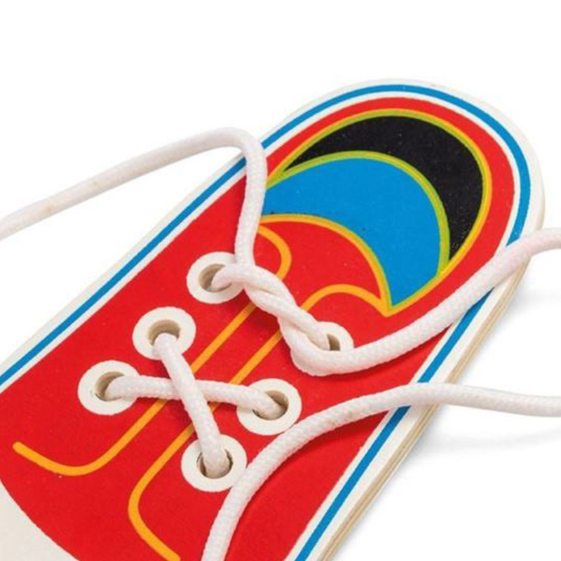 Educational Toy Lacing Shoes Learning Tie Laces Children Tools Helpful/Useful